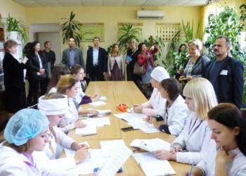 Засідання обласного методичного об'єднання викладачів іноземної мови вищих закладів фахової передвищої освіти Херсонської області.