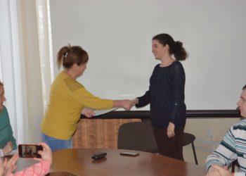 Вітаємо Анастасію Лукомець з отриманням подяки від Департаменту освіти, науки та молоді!