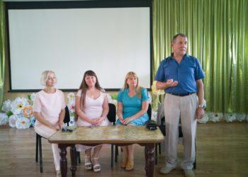 Зустріч з поетом, випускником Бериславського педагогічного училища Олександром Ракшою