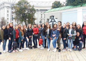 Навчально-польова практика студентів у м. Києві