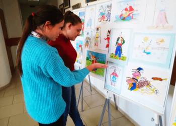 Виставка студентських художніх робіт за тематикою козацької слави