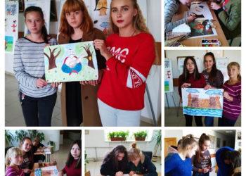 Майстер-клас з нетрадиційних технік малювання до Дня художника України