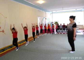 Показове заняття з фізичного виховання у старшій віковій групі