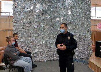 Зустріч з старшим інспектором ювенальної превенції  Бериславського відділу поліції