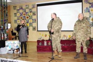 До Дня Збройних сил України. Студенти зустрілись з воїнами АТО та волонтером